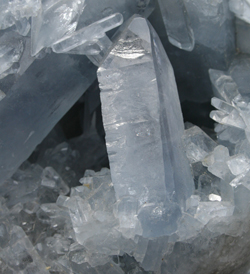 celestite crystal